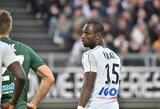 """""""Saint-Etienne"""" 95-ąją minutę fantastišku smūgiu išplėšė lygiąsias su """"Amiens"""""""