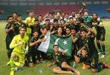 Pagaliau pasisekė: Pakistano rinktinė laimėjo pirmas rungtynes per 44 metus