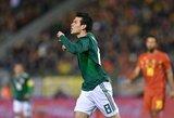 """""""Manchester United"""" pradėjo medžioti pasaulio čempionate sužibėjusį H.Lozano"""