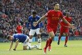 "Rekordinį ""Liverpool"" triumfą miesto derbyje apkartino S.Mane trauma"