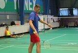 Lietuvos badmintonininkai Europos čempionate pralaimėjo ir ukrainiečiams