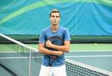 Vartus į teniso elitą užsienio talentai atranda Vilniuje