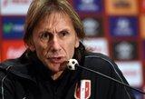 """Peru treneris: """"Įveiksime Braziliją"""" (+ Dunga komentaras)"""