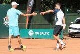 L.Grigelis ir L.Mugevičius Prezidento taurės turnyre startavo pergalingai