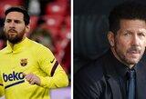 """""""L'Equipe"""" paskelbė daugiausiai uždirbančių žaidėjų ir trenerių sąrašą: viršūnėje L.Messi bei D.Simeone"""