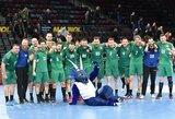 Ilgiau nei metus lauktą pergalę iškovoję Lietuvos rankininkai išsaugojo viltis Europos čempionato atrankoje, prancūzai su kaupu atsirevanšavo portugalams