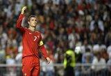 C.Ronaldo ruošiasi kariauti su UEFA