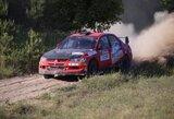 """Po pirmos """"Samsonas Motorsport Rally Utena"""" dienos pirmauja lietuviai"""