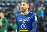 """D.Gailius: apie išsiskyrimą su """"Telekom Baskets Bonn"""", """"Neptūną"""" ir tikslus artėjant lemiamoms kovoms"""