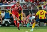 Du lietuviai pasitraukė iš Rumunijos taurės, M.Adamonis paliekamas ant suolo