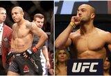 """""""UFC 218"""" pristatymas ir prognozės: J.Aldo bandymas sugrįžti į sostą ir R.Namajunas komandos draugo mūšis su E.Alvarezu"""