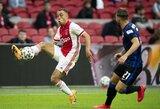 """Katalonai nušluostė nosį """"Bayern"""": laimėjo kovą dėl jaunojo """"Ajax"""" gynėjo"""