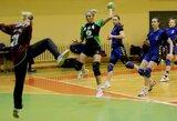Triuškinanti lyderių pergalė Lietuvos moterų rankinio čempionate