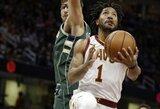 """D.Rose'as palaiko ryšį su """"Cavaliers"""" vadovybe"""