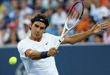 ATP serijos teniso turnyro JAV ketvirtfinaliuose – favoritų pergalės