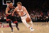 """""""Knicks"""" gynėjui – sezonas baigtas"""