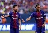 """Neymaras trečią kartą padavė į teismą """"Barceloną"""""""