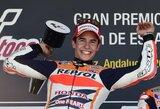 """MotoGP"" lenktynėse - jau ketvirtoji M.Marquezo pergalė"