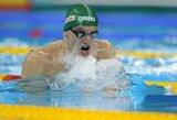 Plaukimo varžybose Italijoje – antrasis G.Titenio auksas ir dar vienas kelialapis į Rio de Žaneirą
