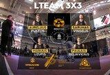 """Vieningosios 3x3 krepšinio lygos etape """"LTeam"""" komanda neįveikė ketvirtfinalio barjero"""