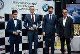 """Sostinėje apdovanti """"BMW Lietuvos kartingo čempionato"""" nugalėtojai"""
