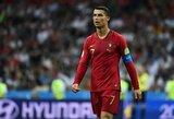 """F.Hierro įspėjo: """"Nekeisčiau C.Ronaldo į nė vieną Ispanijos žaidėją"""""""