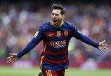 """""""Barcelona"""" planuoja pratęsti sutartį su L.Messi"""