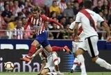 """""""Atletico"""" žvaigždė A.Griezmannas: """"Jau esu tame pačiame lygyje kaip C.Ronaldo ir L.Messi"""""""