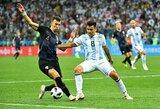 """I.Perišičius: """"Argentina nežaidžia kaip komanda, jiems reikia pokyčių"""""""