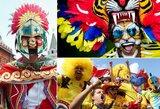 Pamatykite: spalvingiausi pasaulio čempionato sirgaliai užplūdo Rusijos gatves