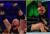 """WWE cirkas Saudo Arabijoje: T.Fury """"nokautavo"""" B.Strowmaną ir buvo numestas ant nugaros, B.Lesnaras nugalėjo C.Velasquezą"""