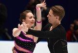 Pasaulio čempionate – sėkmingas Lietuvos šokių ant ledo poros startas ir prancūzų pagerintas planetos rekordas