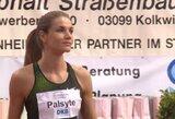 Beveik dvejus metus neregėtą rezultatą pasiekusi A.Palšytė Vokietijoje pranoko pasaulio vicečempionę
