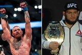 Pokyčiai UFC reitinge: per dvi pozicijas pakilo C.McGregoras, į trejetuką įsibrovė T.J.Dillashaw, o D.Johnsonas prarado net keturias vietas