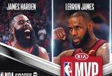 NBA paskelbė, kas pretenduoja tapti sezono MVP, metų treneriu, geriausiu naujoku ir kt.