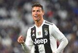 """C.Ronaldo praėjusią vasarą svarstė galimybę prisijungti prie """"Milan"""" ekipos?"""
