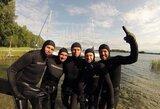 """Laisvojo nardymo instruktorius T.Jurgaitis: """"Penkios minutės po vandeniu – nieko sudėtingo"""""""