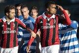 """""""Milan"""" žaidėjai, neiškentę įžeidinėjimų, paliko rungtynes"""