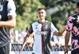 """Puikus P.Dybalos įvartis padovanojo """"Juventus"""" pergalę draugiškose rungtynėse"""