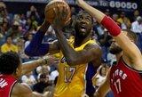 """""""Lakers"""" ieško naujos darbovietės R.Hibbertui"""