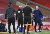 """F.Lampardo nervai neatlaikė: necenzūriniais žodžiais išsiliejo ant J.Kloppo ir """"Liverpool"""" atsarginių žaidėjų"""