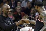 """""""Lakers"""" pagrindiniai vasaros taikiniai – L.Jamesas ir C.Anthony"""