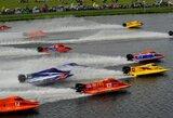 """Antrajame pasaulio """"formulės 2"""" motorlaivių čempionato etape E.Riabko nefinišavo"""