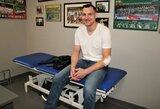 J.Mačiulis sparčiai sveiksta po traumos ir nepraranda vilčių žaisti pasaulio čempionate