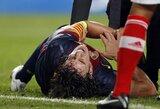"""Barcelona"" pergalę apkartino šiurpi C.Puyolio trauma"