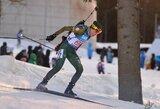 Klimato kaitos pasekmė: Lietuvos biatlono čempionatas vyko Estijoje