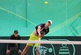 L.Mugevičius Gruzijoje papildė savo ATP vienetų reitingo taškų kraitį