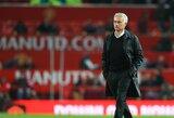 """Dar vienas J.Mourinho pasirodymas: kalbėjo apie filosofiją, """"įgėlė"""" """"Tottenham"""" ekipos sirgaliams ir vėl priminė iškovotus titulus"""