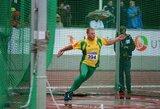 Lietuvos lengvaatlečiai išsaugojo vietą Europos komandinio čempionato pirmoje lygoje