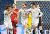 S.Ramosas nerealizavo dviejų 11 m baudinių, tačiau Ispanija 89-ąją minutę išplėšė lygiąsias su šveicarais